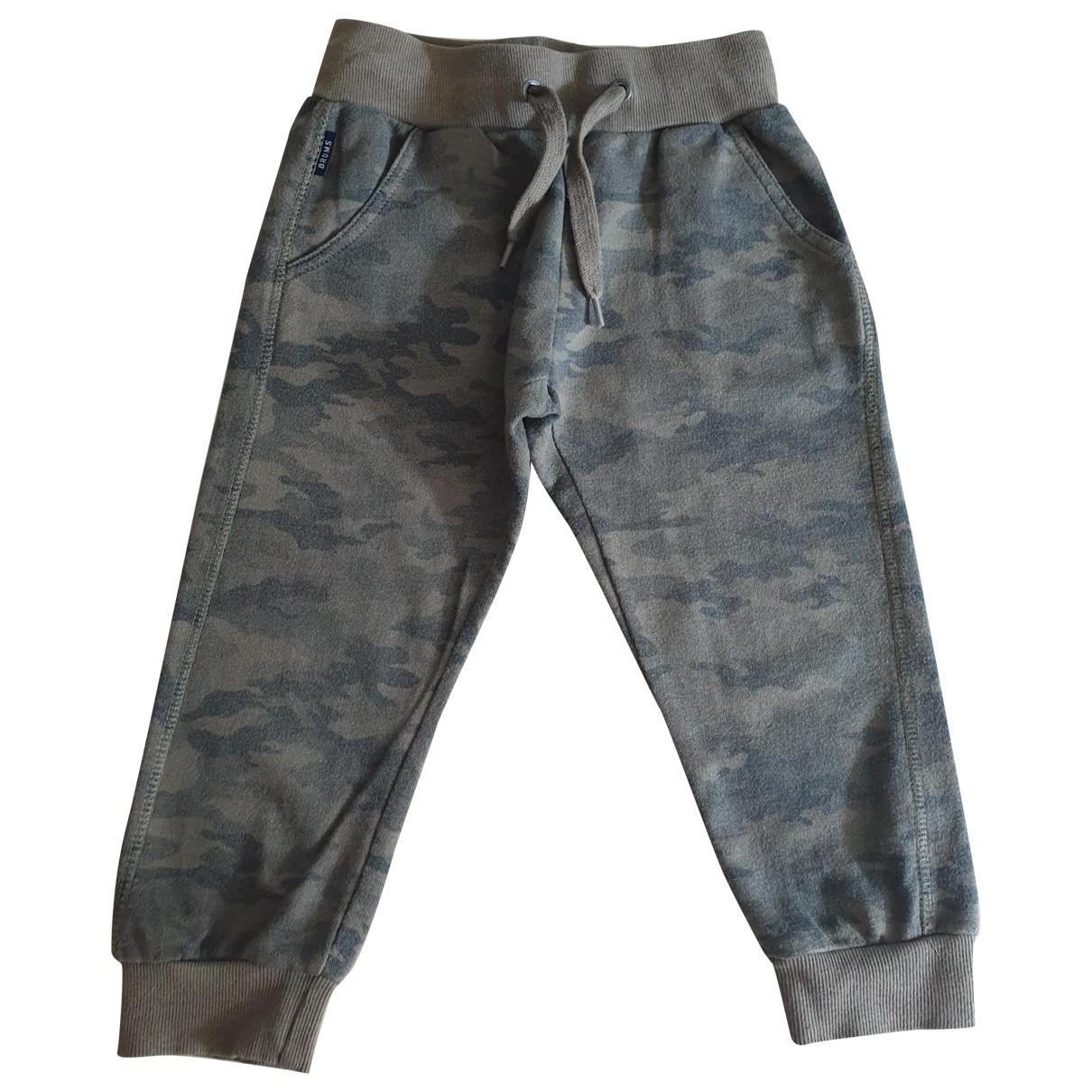 Brums - Pantalon   pour enfant en coton - vert