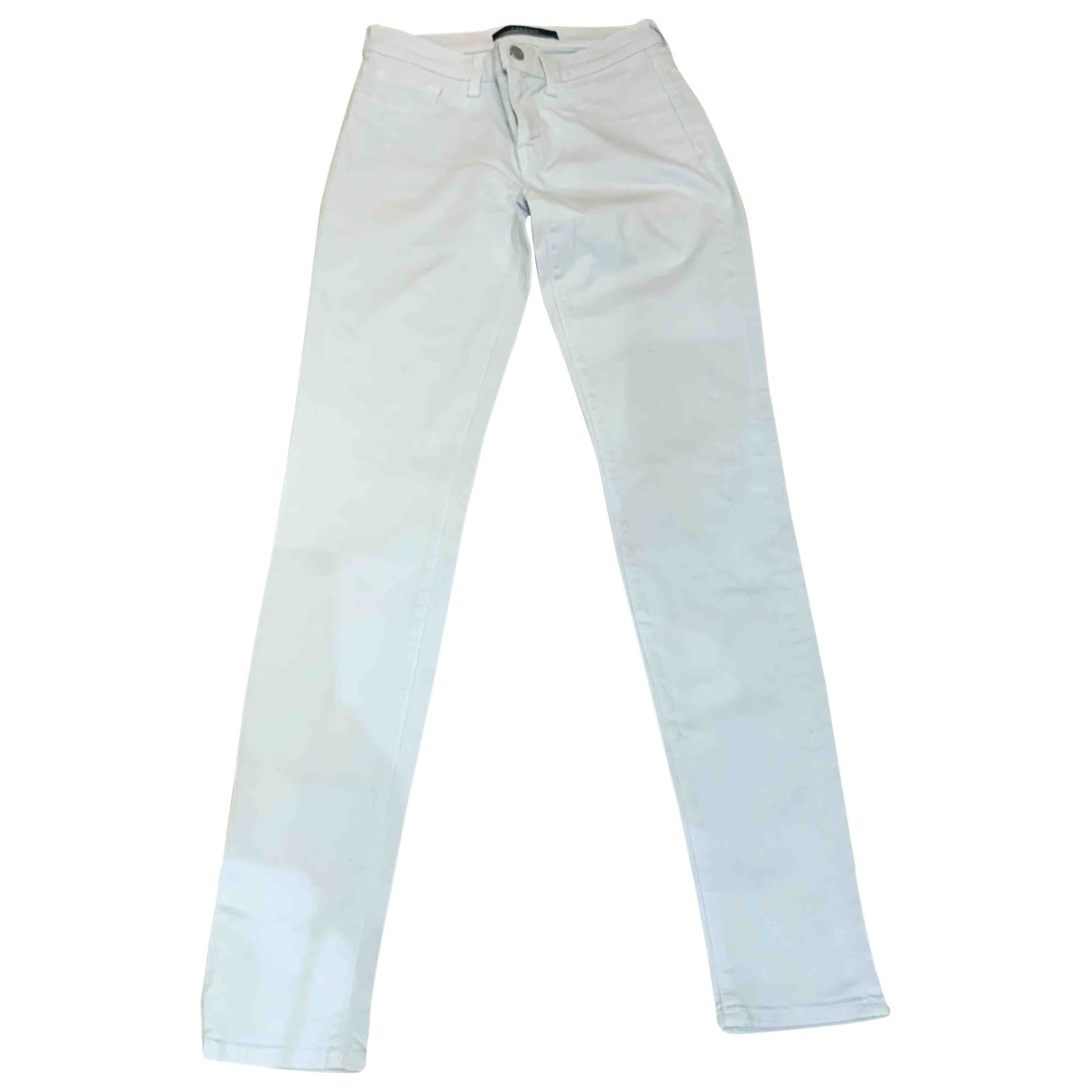 J Brand \N Blue Cotton Jeans for Women 27 US