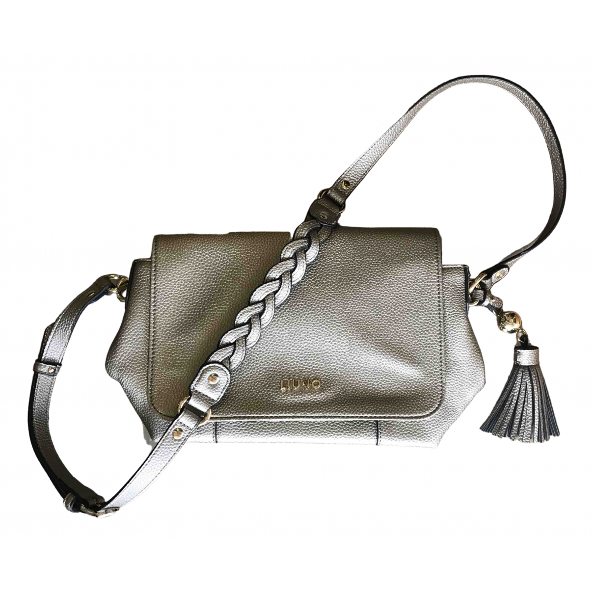 Liu.jo \N Gold Cloth handbag for Women \N
