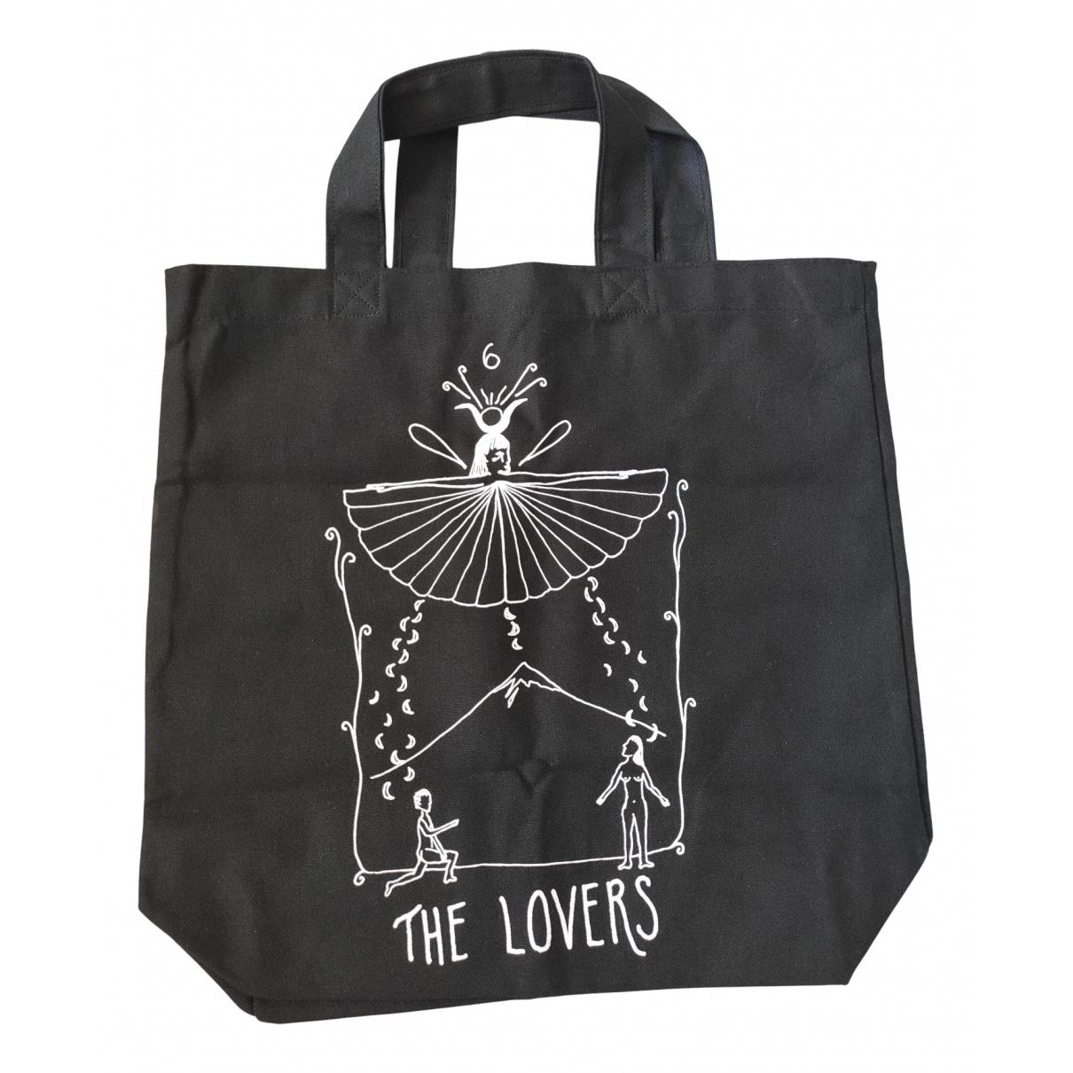 Dior \N Black Cotton handbag for Women \N