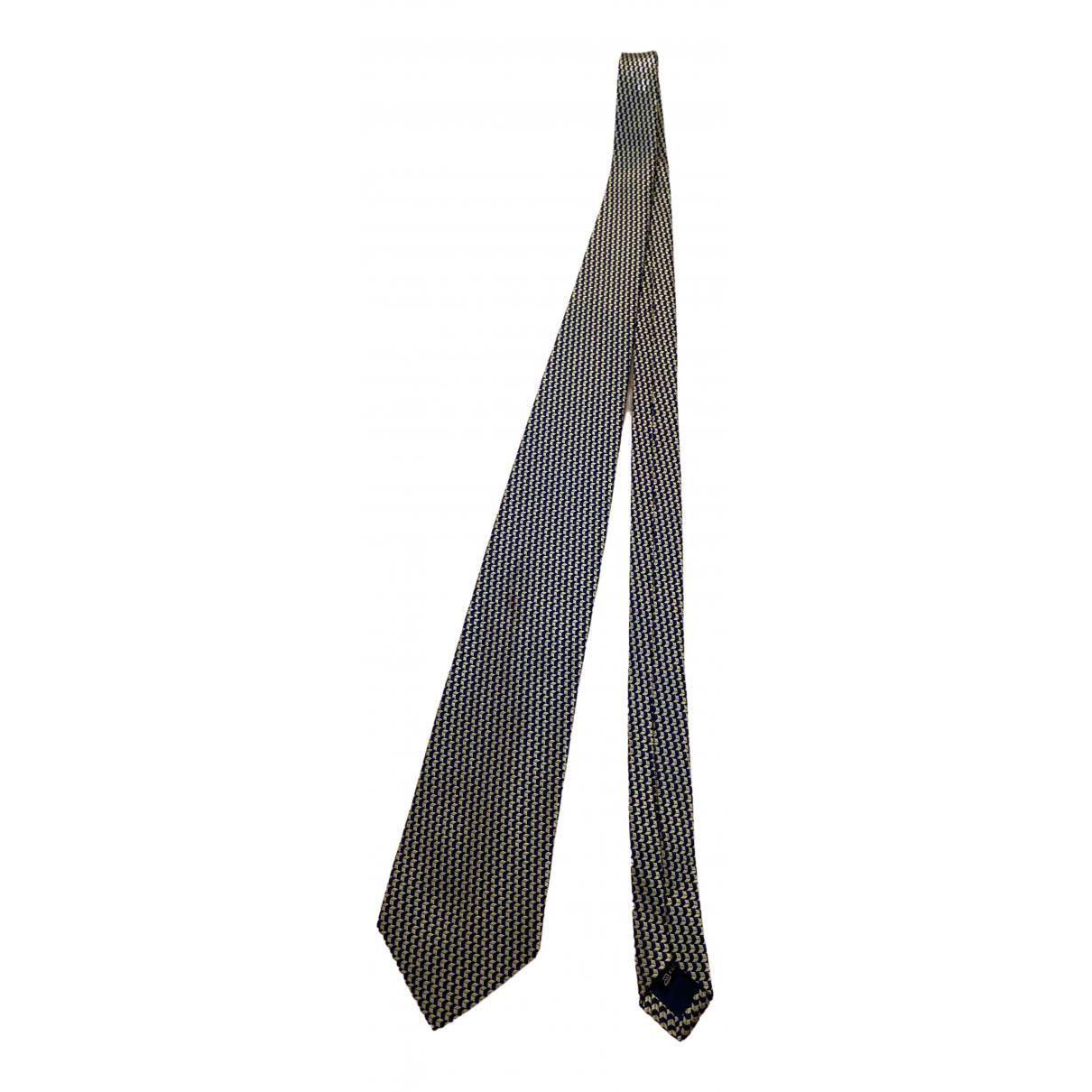 Ermenegildo Zegna - Cravates   pour homme en soie - dore