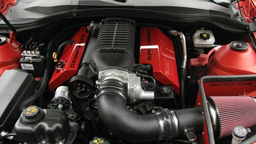 Roto-Fab 10161036 Camaro V8 Whipple S/C Cold Air Intake 10-15 Camaro V8