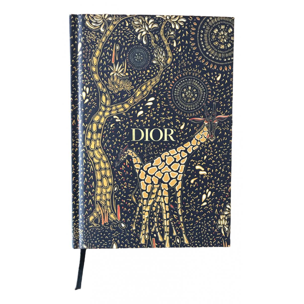 Dior - Objets & Deco   pour lifestyle en coton - elasthane - bleu
