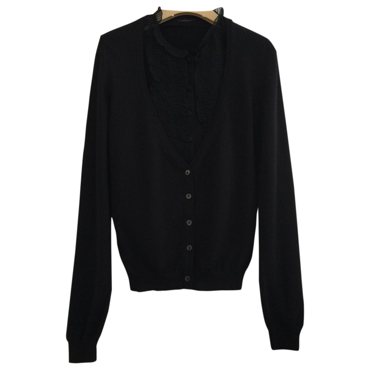 Miu Miu \N Black Wool Knitwear for Women 42 IT