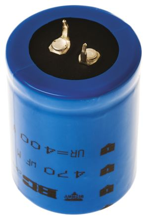 Vishay 470μF Electrolytic Capacitor 400V dc, Through Hole - MAL215956471E3