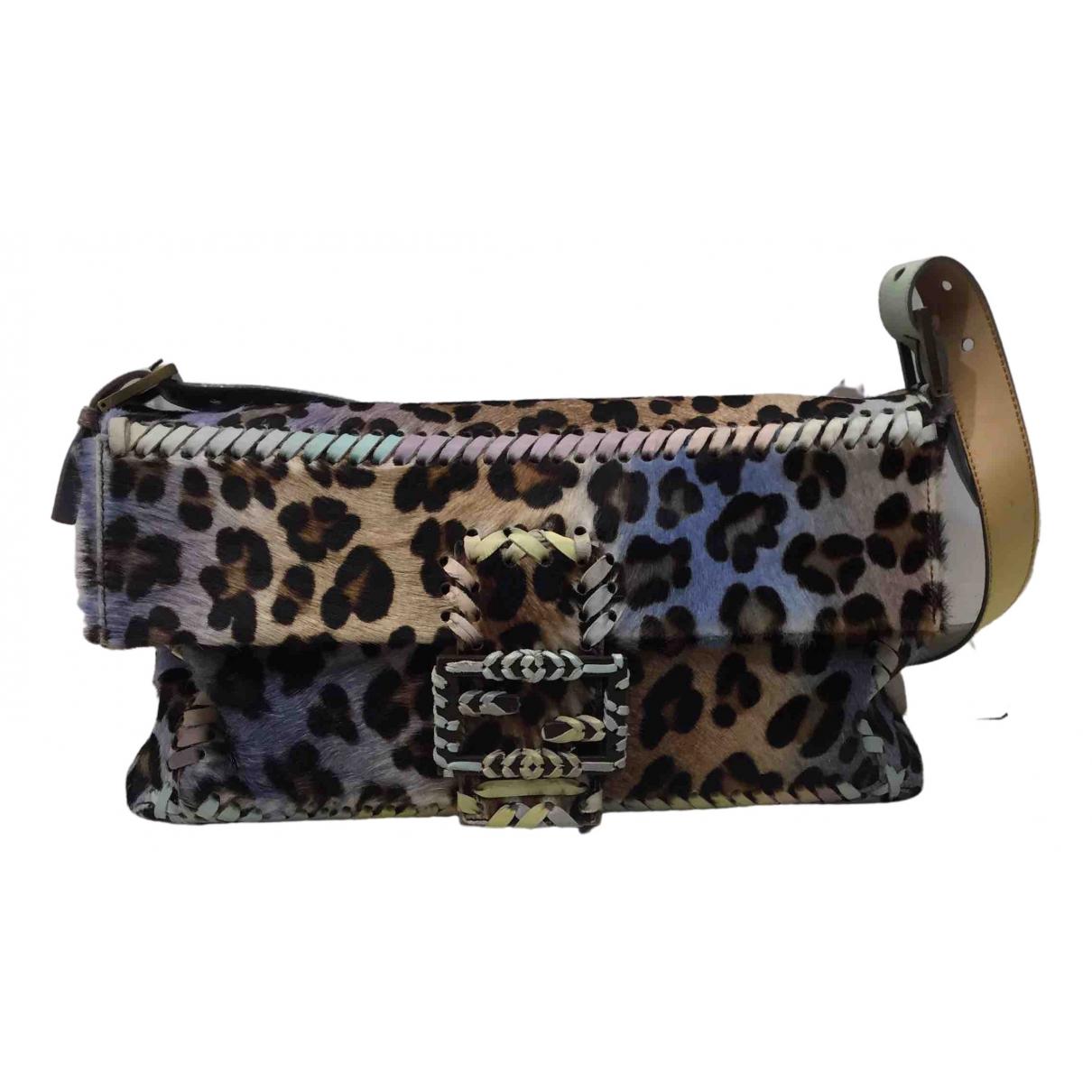 Fendi N Multicolour Pony-style calfskin handbag for Women N