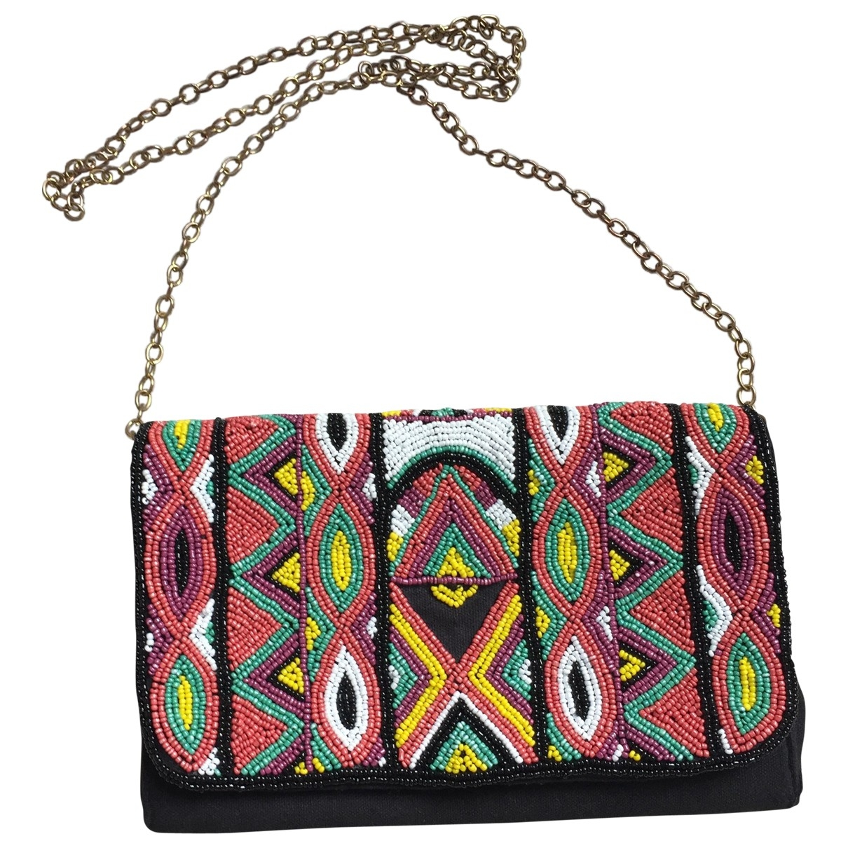 Non Signé / Unsigned \N Multicolour Cloth Clutch bag for Women \N