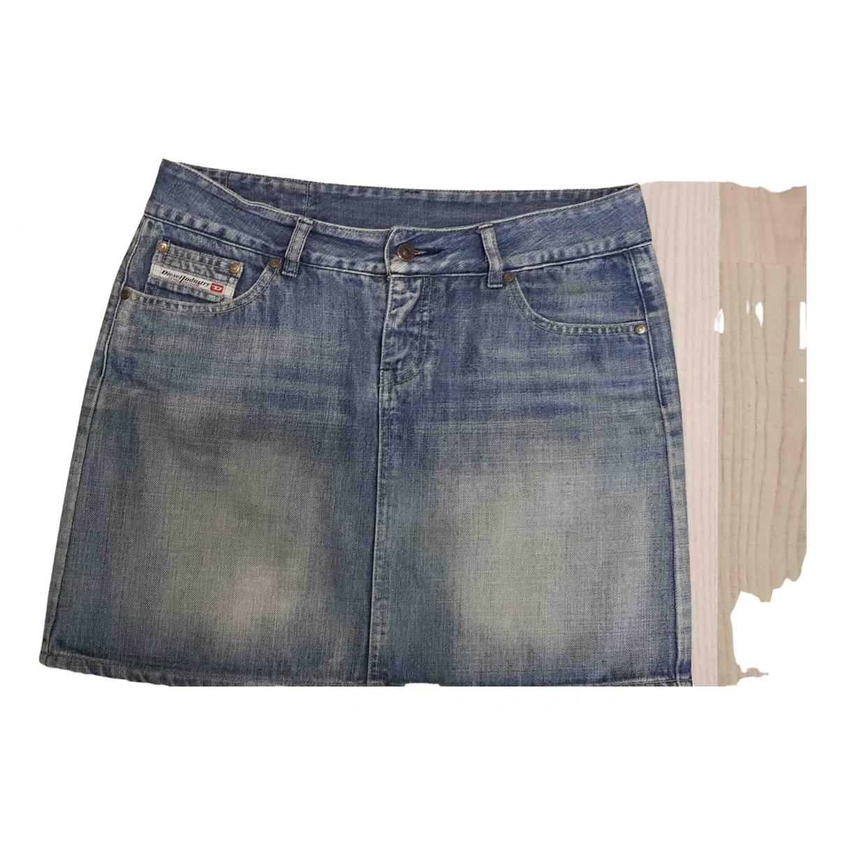 Diesel \N Rocke in  Schwarz Denim - Jeans