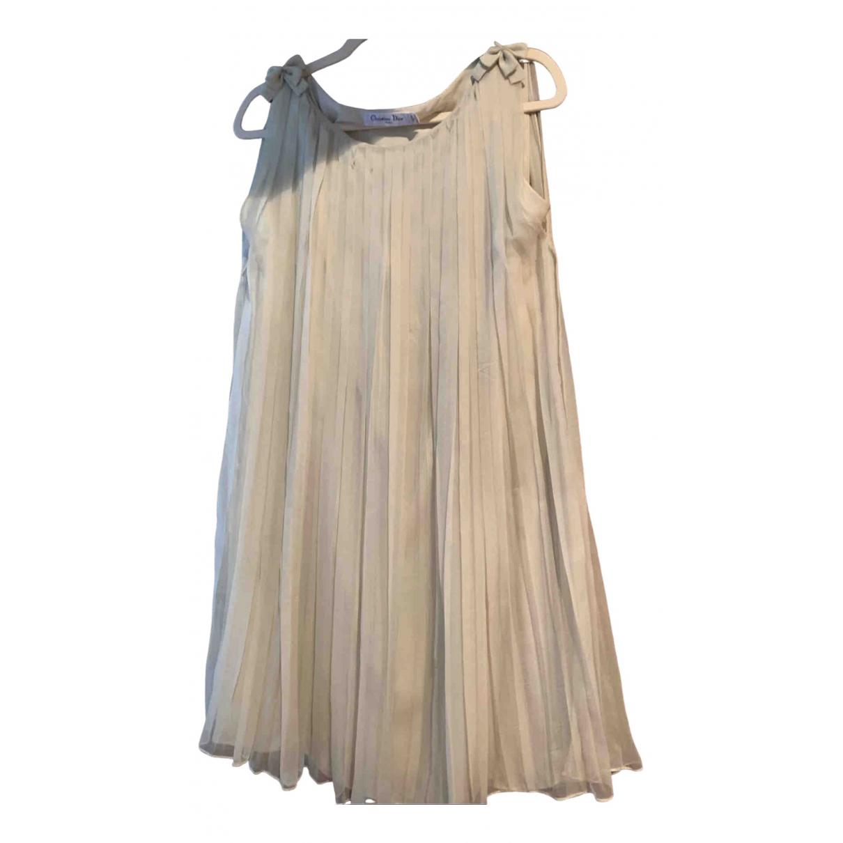 Dior \N Kleid in  Gruen Seide