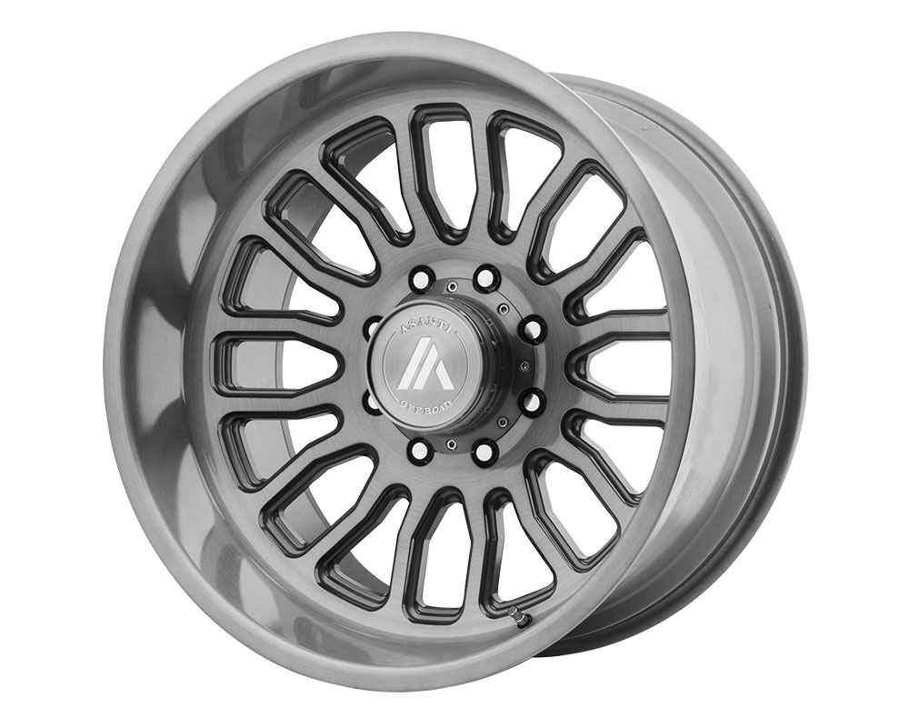 Asanti AB815-201263TB40N Off-Road AB815 Workhorse Wheel 20x12 6x6x135 -40mm Titanium-Brushed