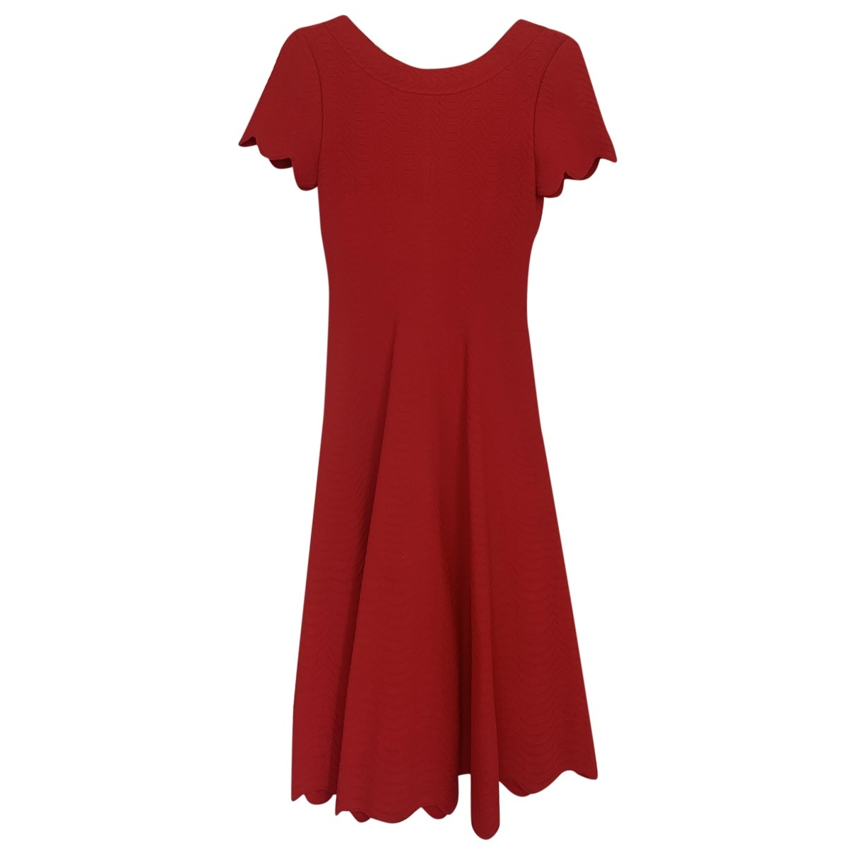 Alaïa \N Red dress for Women 38 FR