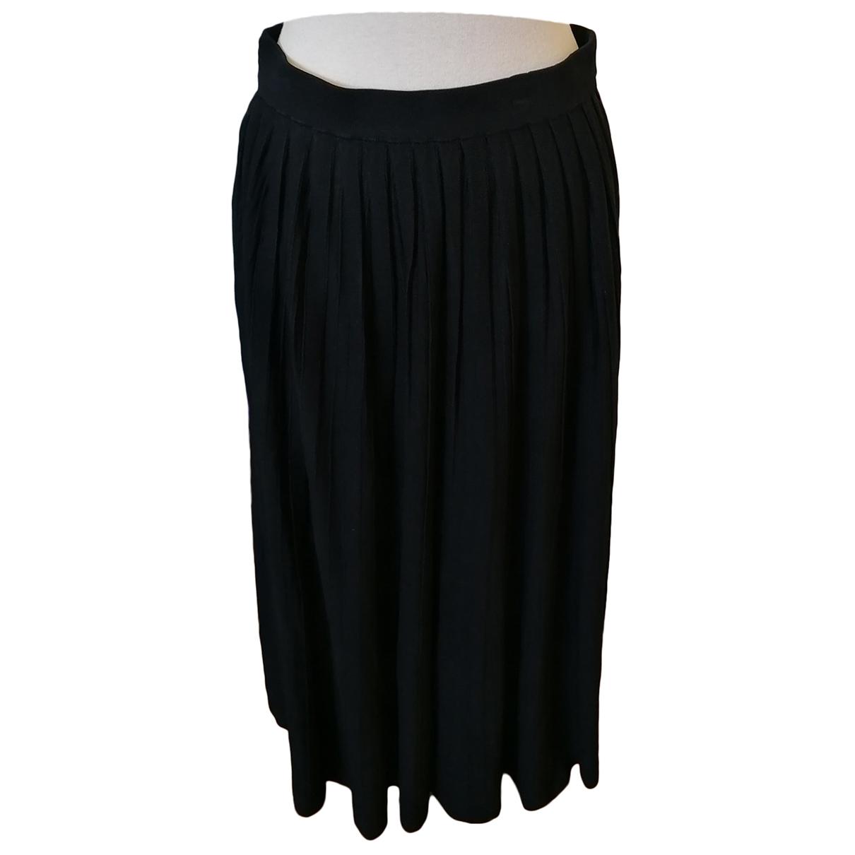Sandro \N Black skirt for Women 40 FR