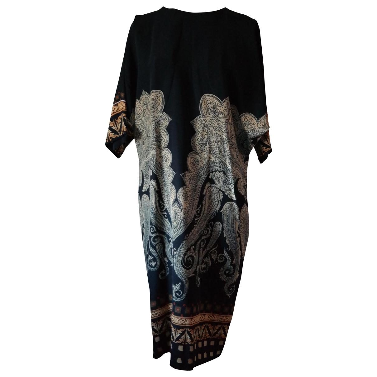 Etro - Robe   pour femme en soie - noir