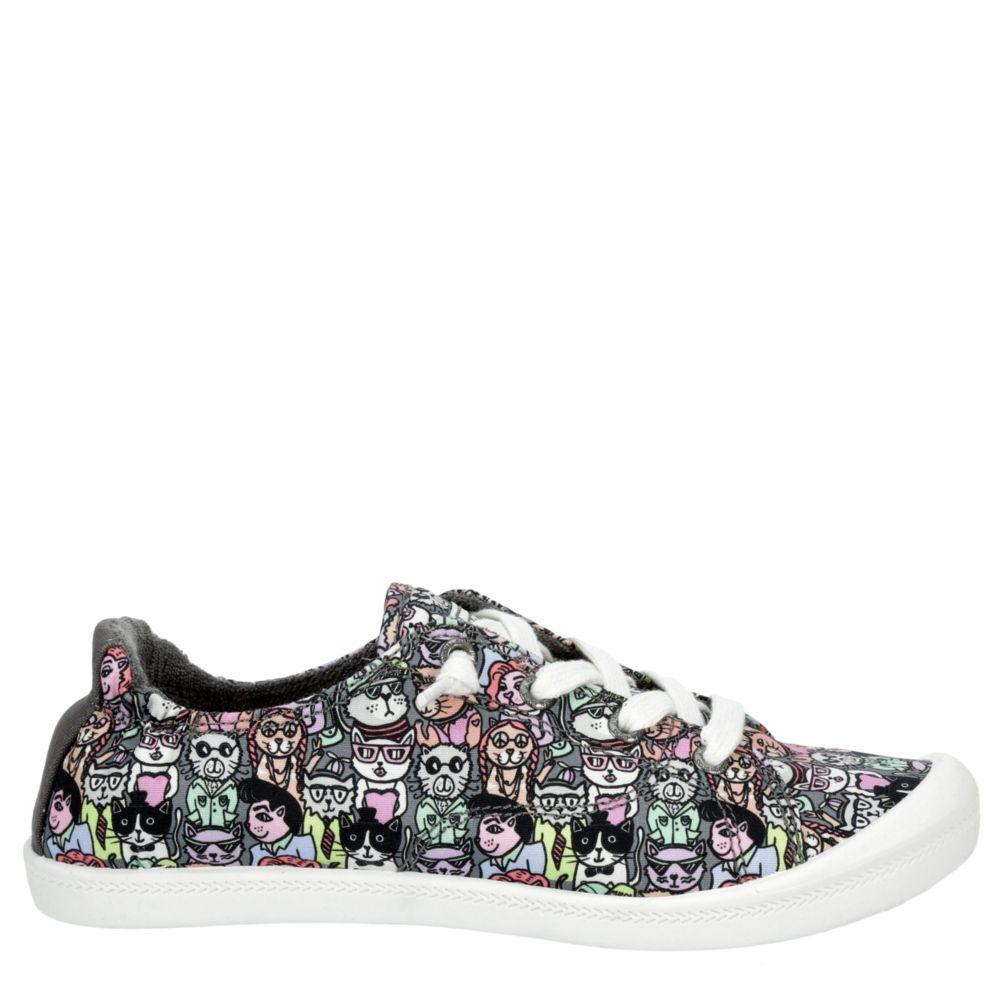 Skechers Bobs Womens Beach Bingo Classy Cat Shoes Sneakers