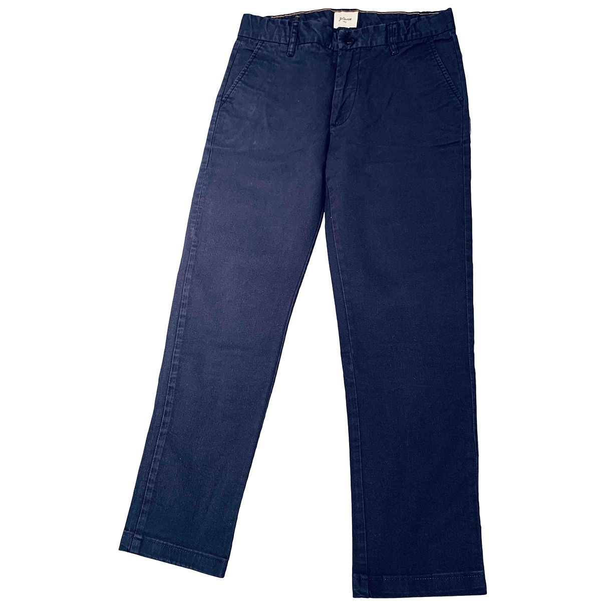 Bellerose \N Blue Cotton Trousers for Kids 14 years - S FR