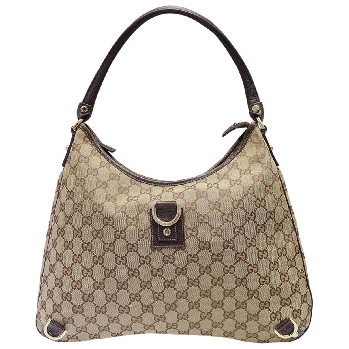 Gucci - Sac a main Hobo pour femme - beige