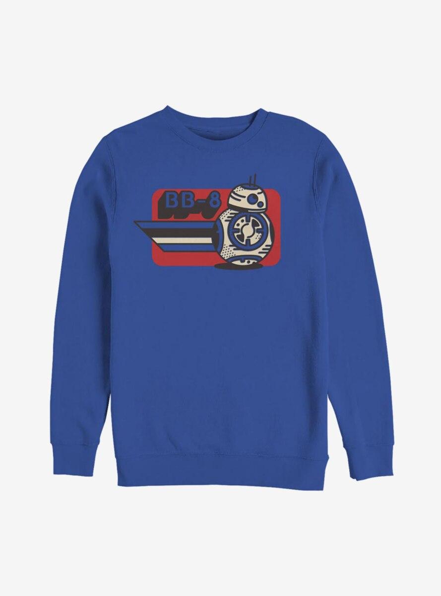 Star Wars Episode IX The Rise Of Skywalker Vintage BB-8 Sweatshirt