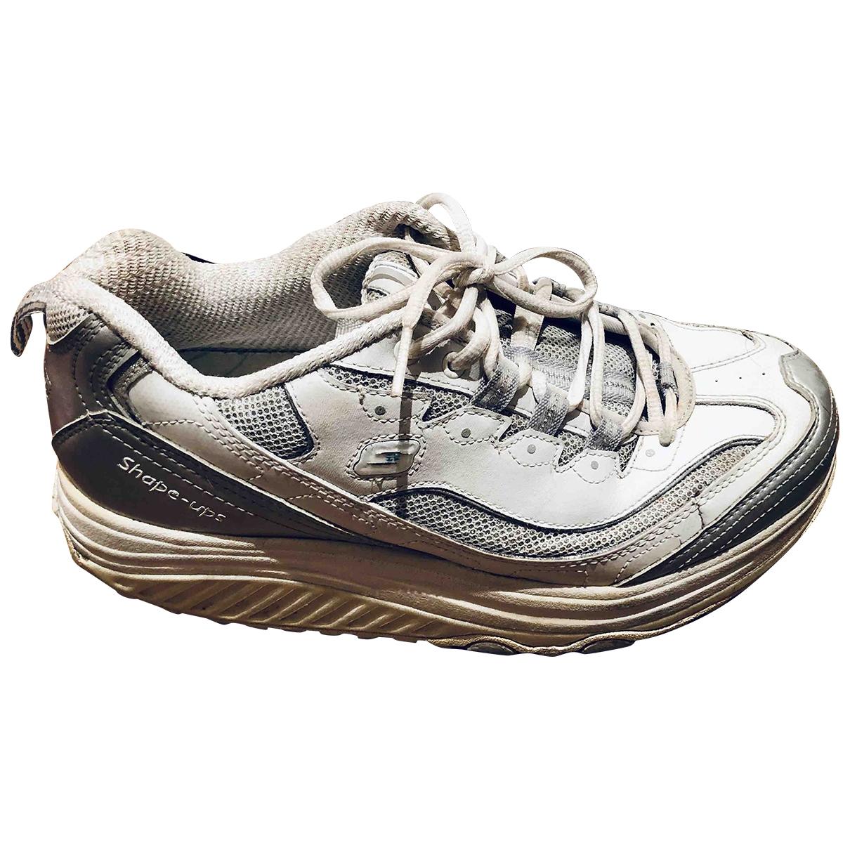 Skechers \N Sneakers in  Weiss Mit Pailletten