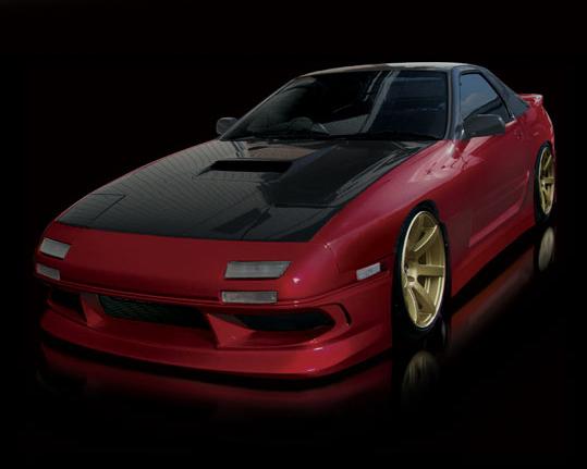 Origin D36-FKT Stream Full Body Kit Mazda RX7 87-92