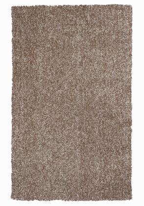 350537 9' x 13' Polyester Beige Heather Area