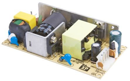 XP Power , 40W AC-DC Converter, 5V dc, Open Frame