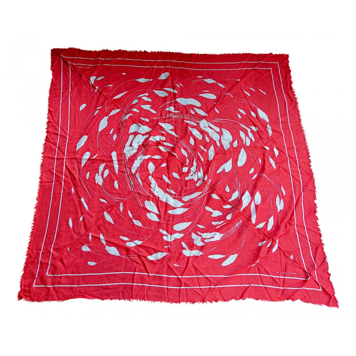 Jane Carr \N Schal in  Rot Kaschmir