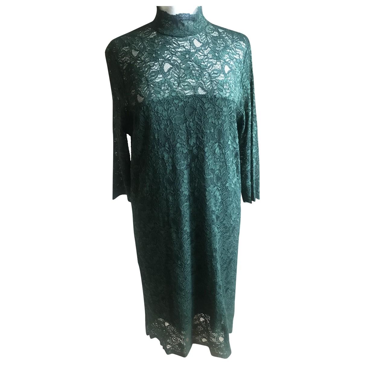 Ganni - Robe   pour femme - vert