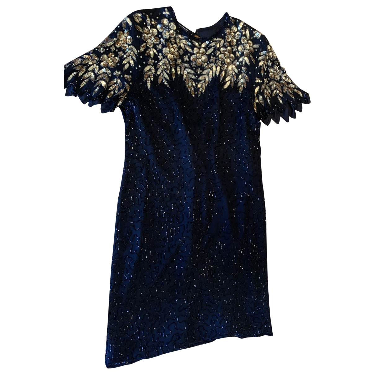 Non Signé / Unsigned \N Black Glitter dress for Women 44 IT