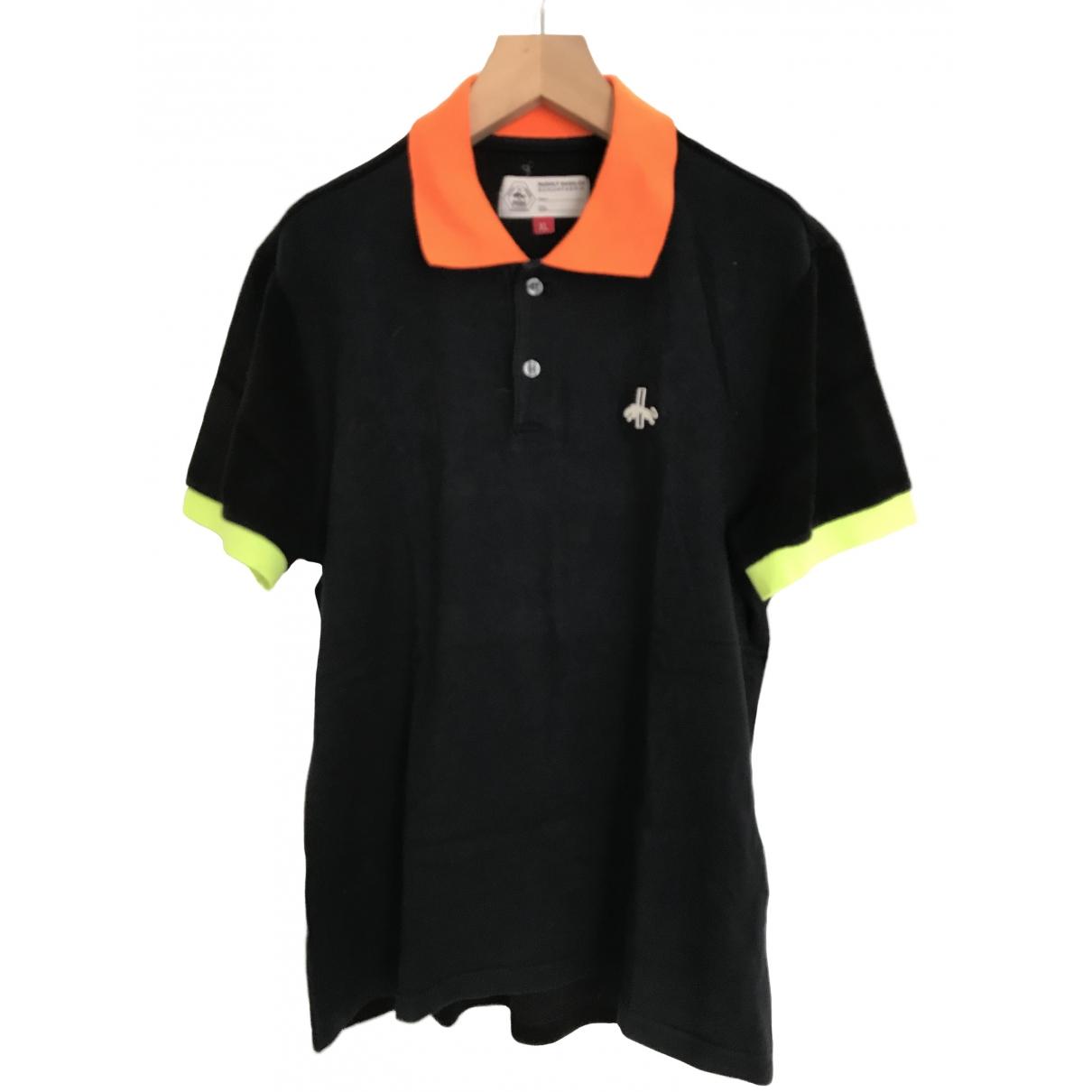 Puma - Polos   pour homme en coton - noir