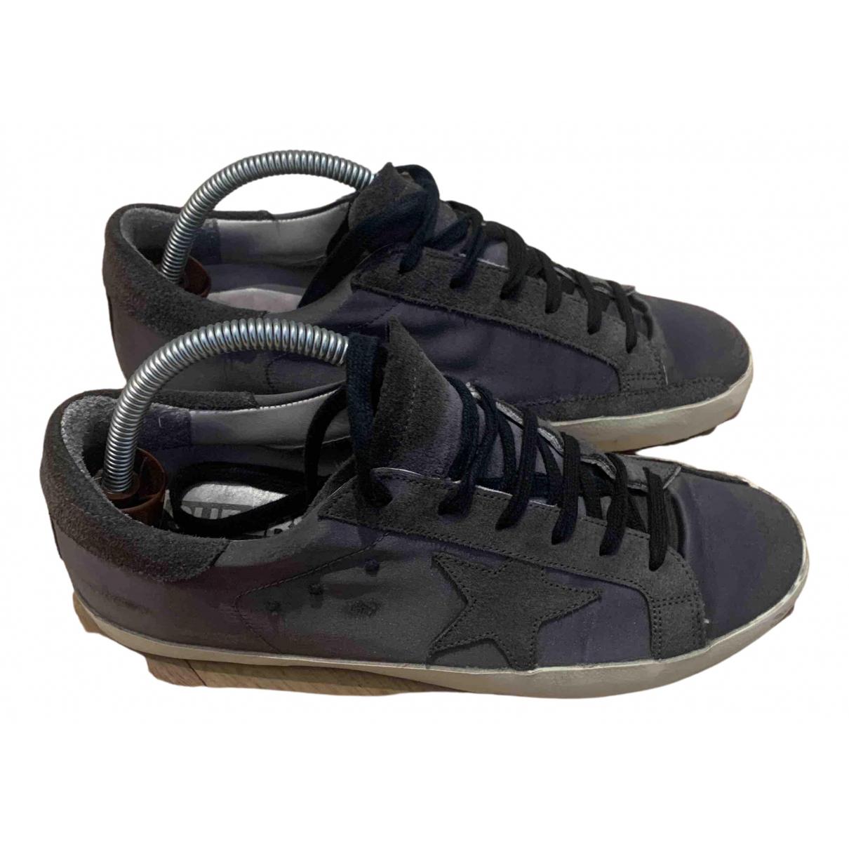 Golden Goose Superstar Sneakers in  Grau Polyester