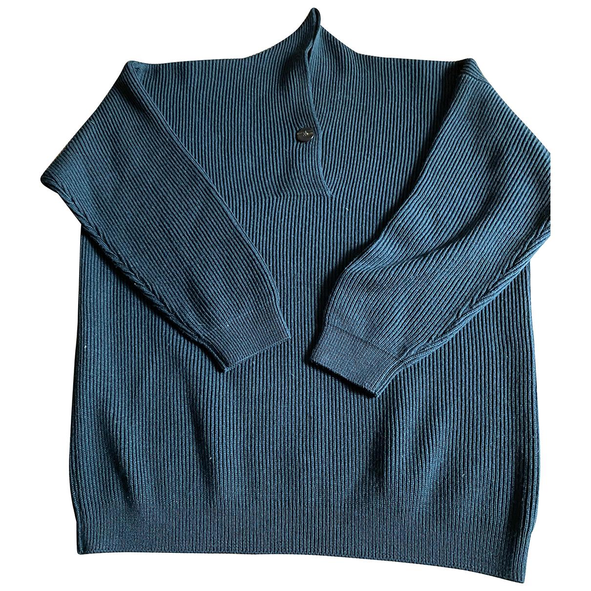 Autre Marque N Green Wool Knitwear for Women M International