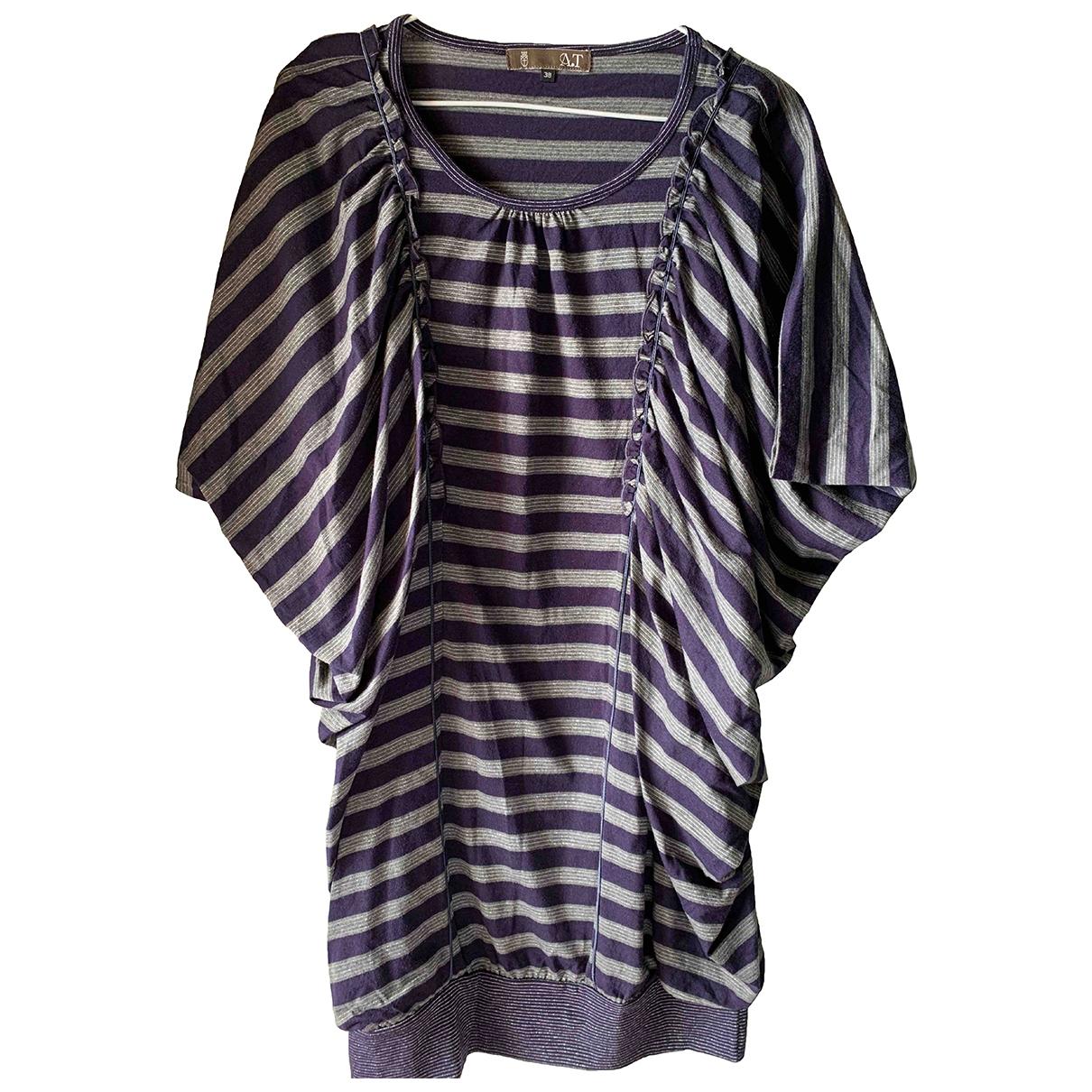 Atsuro Tayama - Top   pour femme en coton - violet