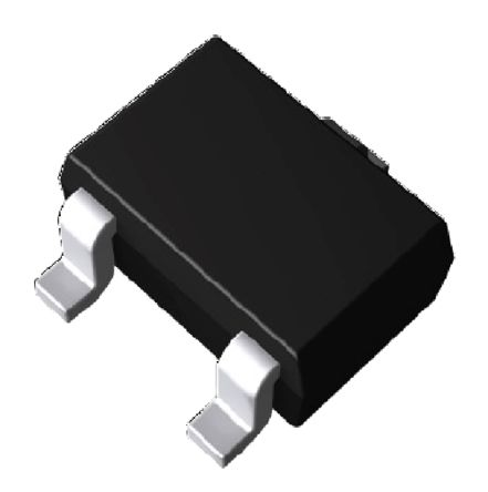 ROHM , DTC123EUAT106 NPN Digital Transistor, 100 mA 2.2 kΩ, Ratio Of 1, 3-Pin UMT (10)