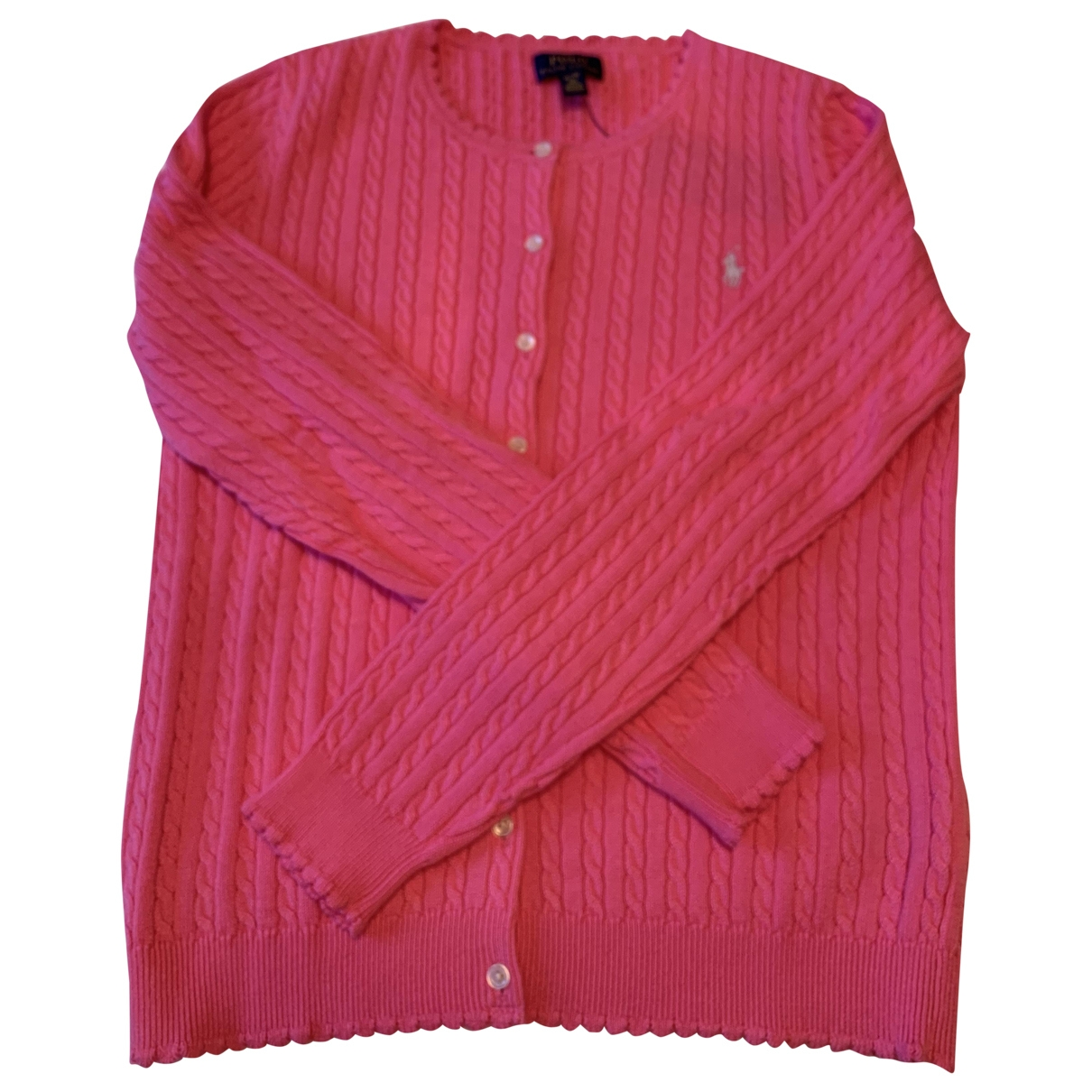 Polo Ralph Lauren \N Pink Cotton Knitwear for Kids 16 years - M