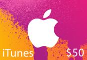 iTunes $50 CA Card
