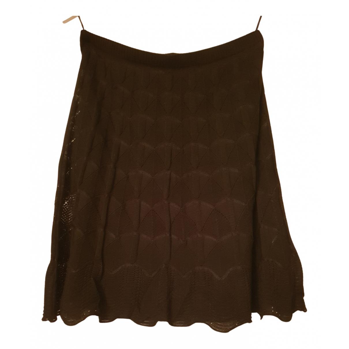 Falda midi de Lana M Missoni