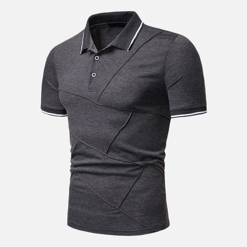 Mens Classic Stylish Casual Business Golf Shirts