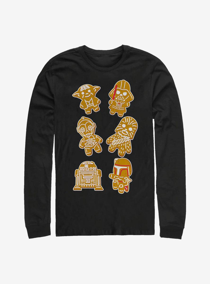 Star Wars Group Cookies Long-Sleeve T-Shirt
