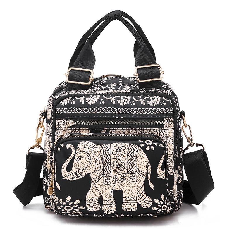 Women Cute Backpack Handbag Nylon Crossbody Bag Tote Bags