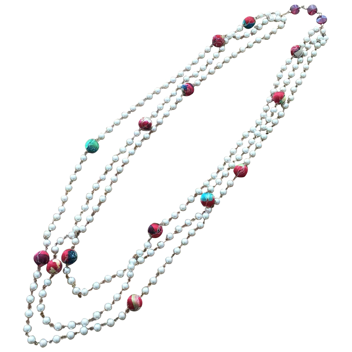 Non Signé / Unsigned \N Multicolour Metal Long necklace for Women \N