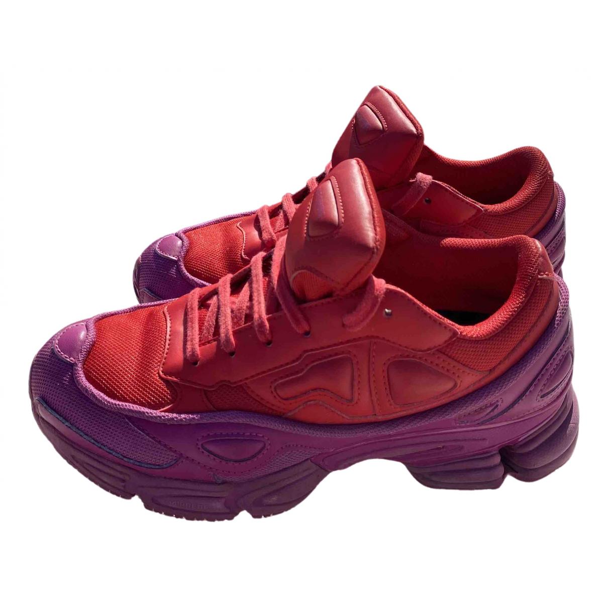 Adidas X Raf Simons Owzeego 3 Sneakers in  Bunt Leder