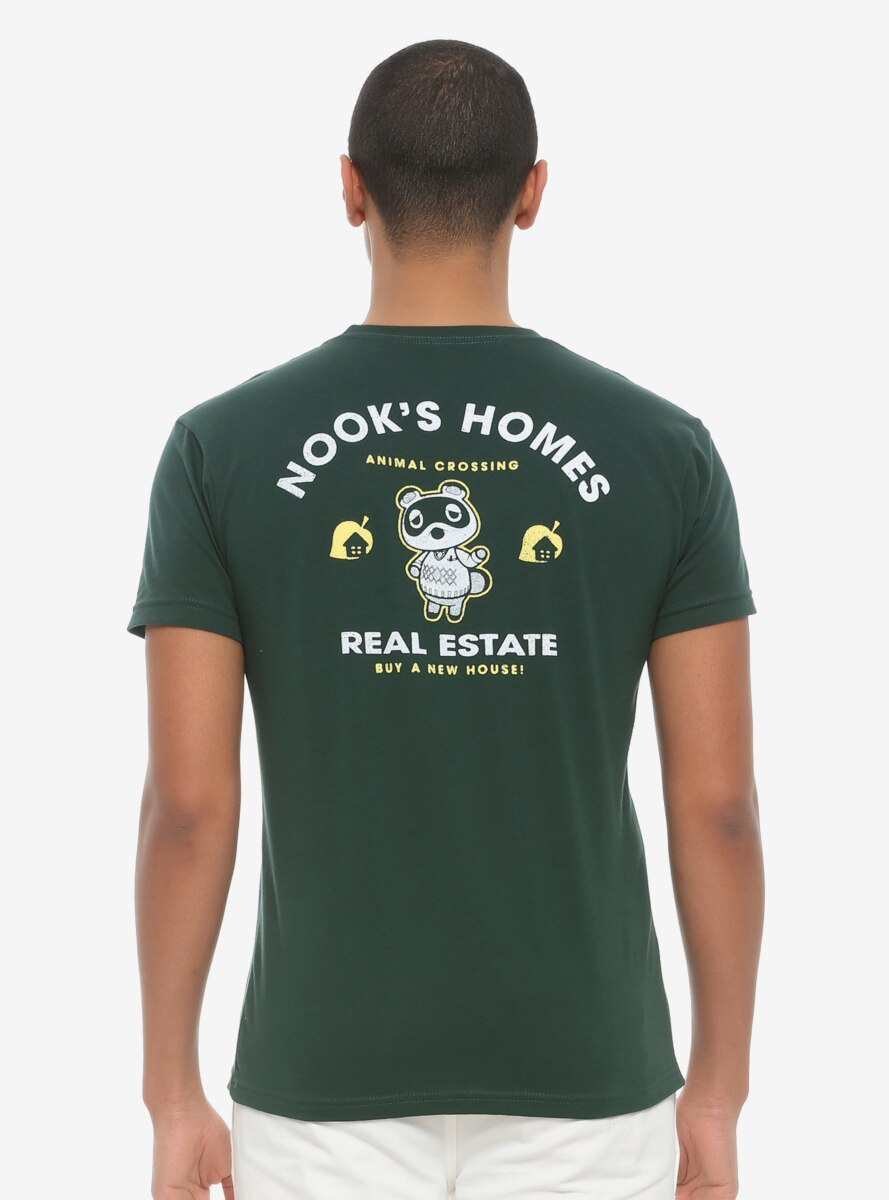 Animal Crossing Nook's Homes Real Estate T-Shirt - BoxLunch Exclusive