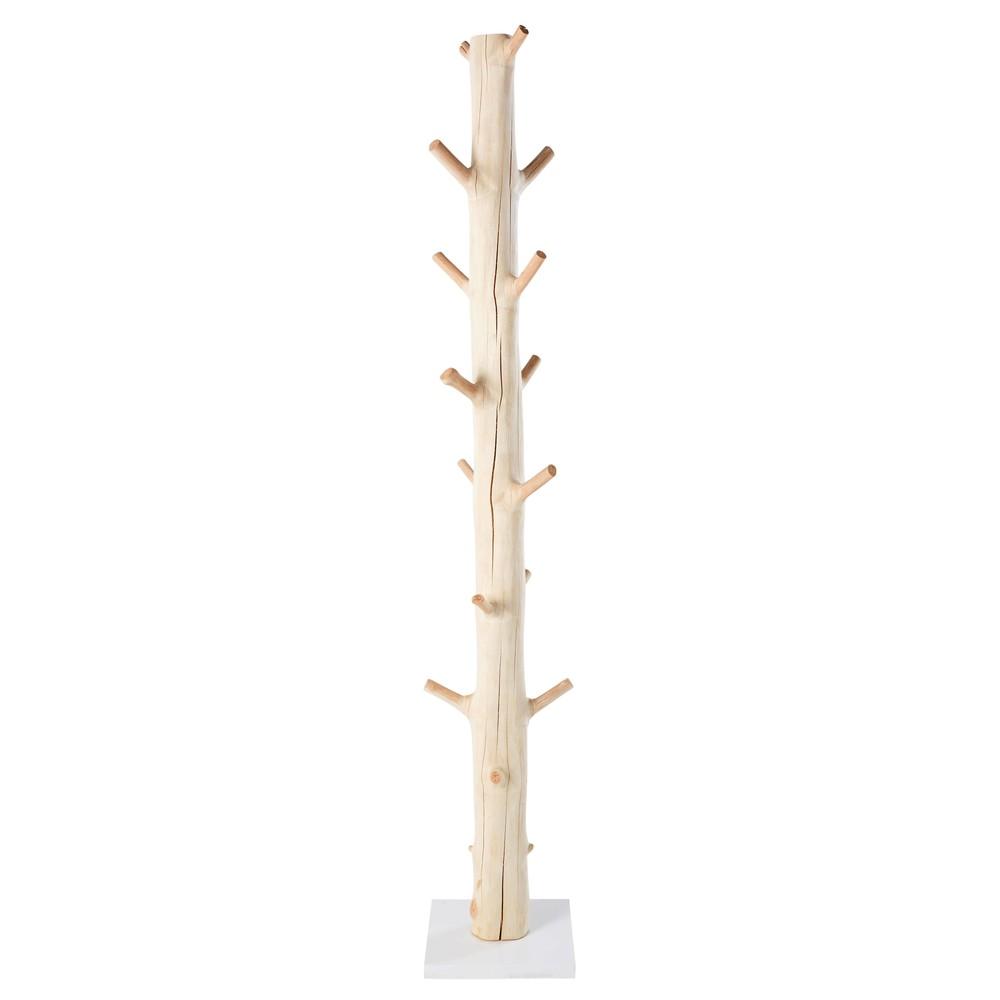 Kleiderstaender in Baumstammoptik aus Mangostanholz