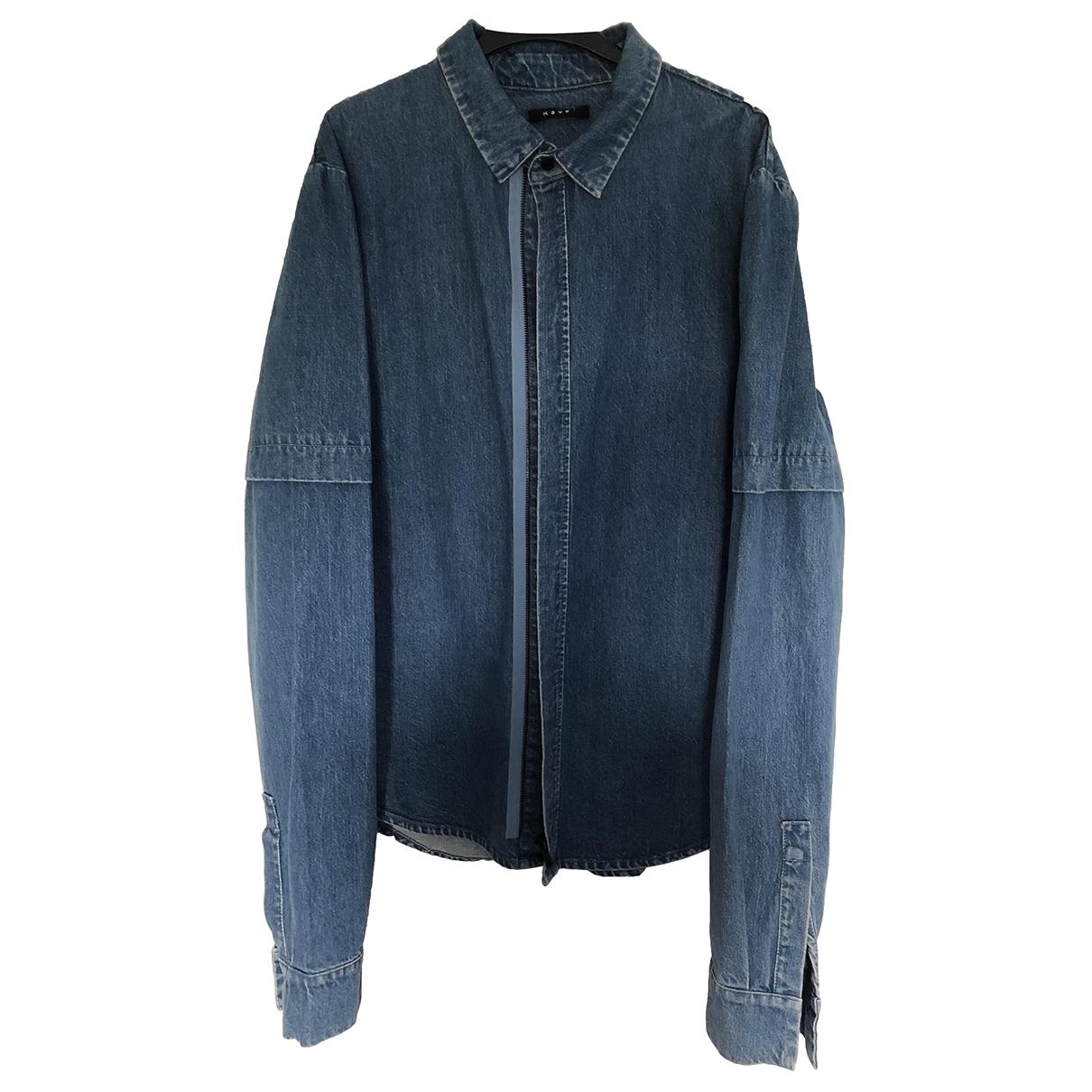 Ksubi \N Jacke in  Blau Polyester