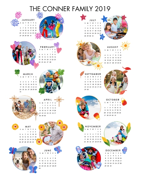 Calendar 16x20 Poster(s), Board, Home Décor -One Wish