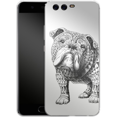 Huawei P10 Silikon Handyhuelle - English Bulldog von BIOWORKZ