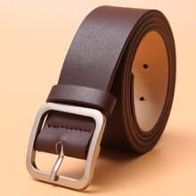 Men Metal Buckle Belt