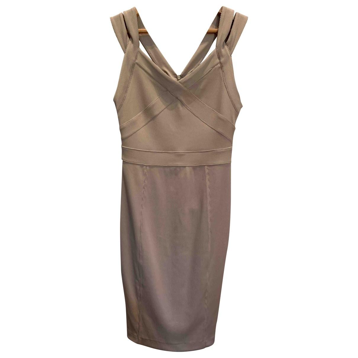 Emporio Armani \N Beige dress for Women S International