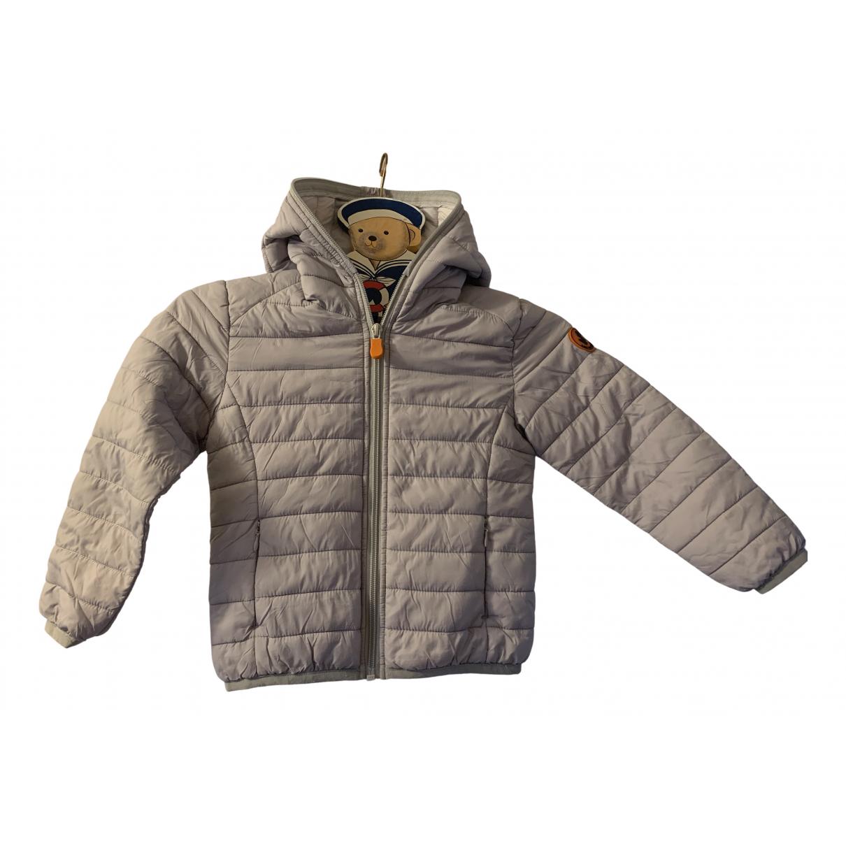 Save The Duck - Blousons.Manteaux   pour enfant - gris