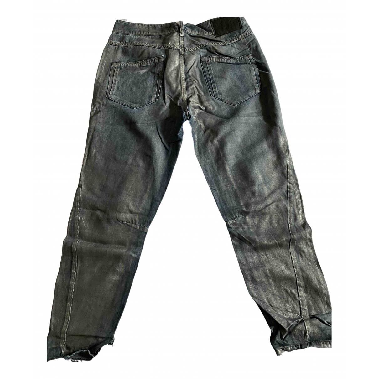 Diesel Black Gold - Jean   pour femme en coton - metallise
